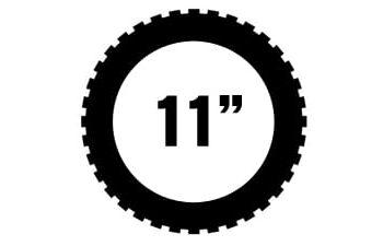 "11"" renkaat"