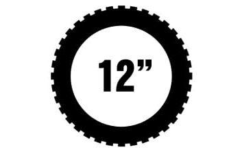 """12"""" Michelin offroad renkaat"""