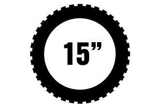 15'' renkaat