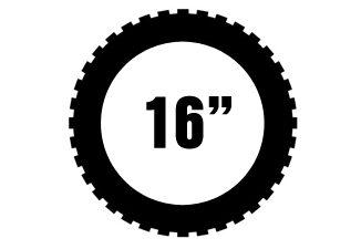 """16"""" Michelin offroad renkaat"""