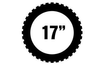 """17"""" Michelin offroad renkaat"""