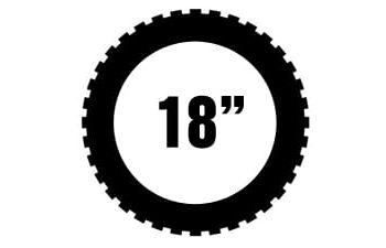 """18"""" Metzeler offroad renkaat"""