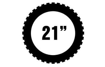 """21"""" Metzeler offroad renkaat"""