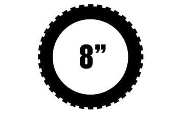 "8"" renkaat"
