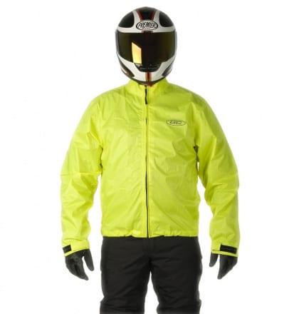 gc bikewear fluo fluor GC2FR moottoripyörä sadetakki etu