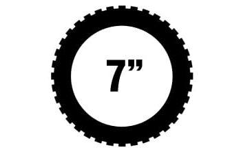 "7"" renkaat"