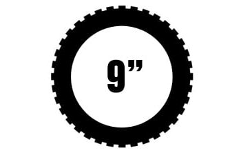 "9"" renkaat"