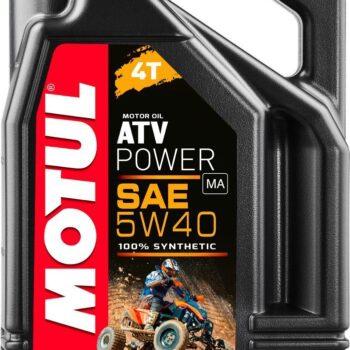 Motul 105898 ATV Power 5W40 4T 4L 1