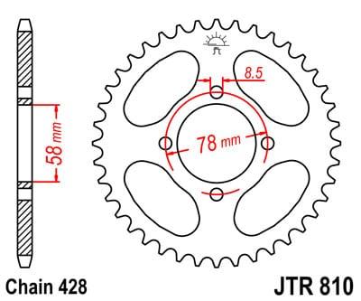 1 13T JT FRONT  SPROCKET FITS SUZUKI GS125 DRUM BRAKE 1979-1982