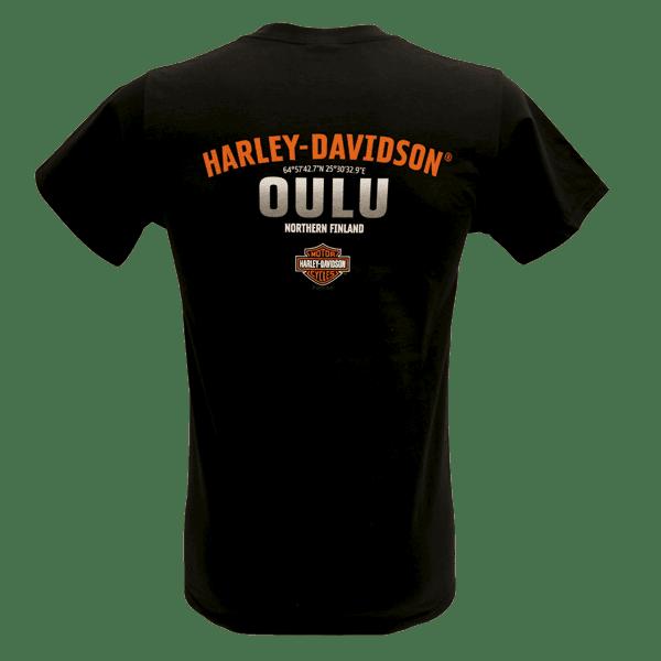 Harley Davidson Paita Bar and Shield Adt T BK Taka