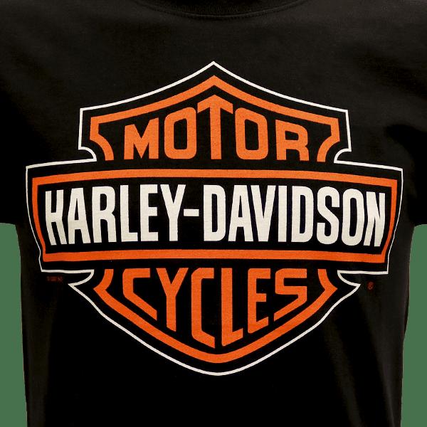 Harley Davidson Paita Bar and Shield Adt T BK ZoomEtu