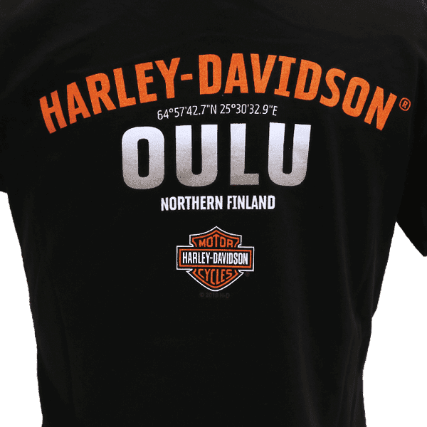 Harley Davidson Paita HD Naisten Dealer t shirt T Paita Oulu ZoomTaka