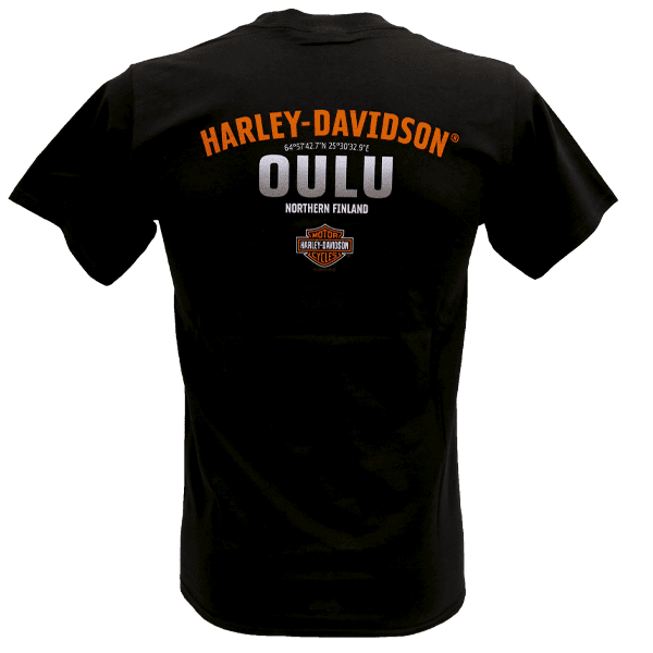 Harley Davidson Paita HD t shirt T Paita Oulu Taka