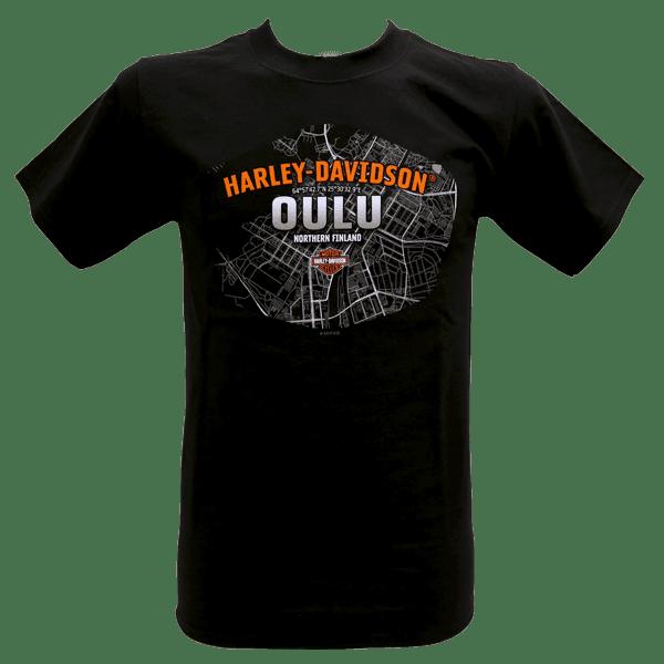 Harley Davidson Paita Kartta Etu