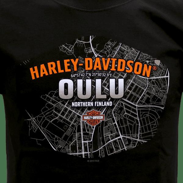 Harley Davidson Paita Kartta ZoomEtu