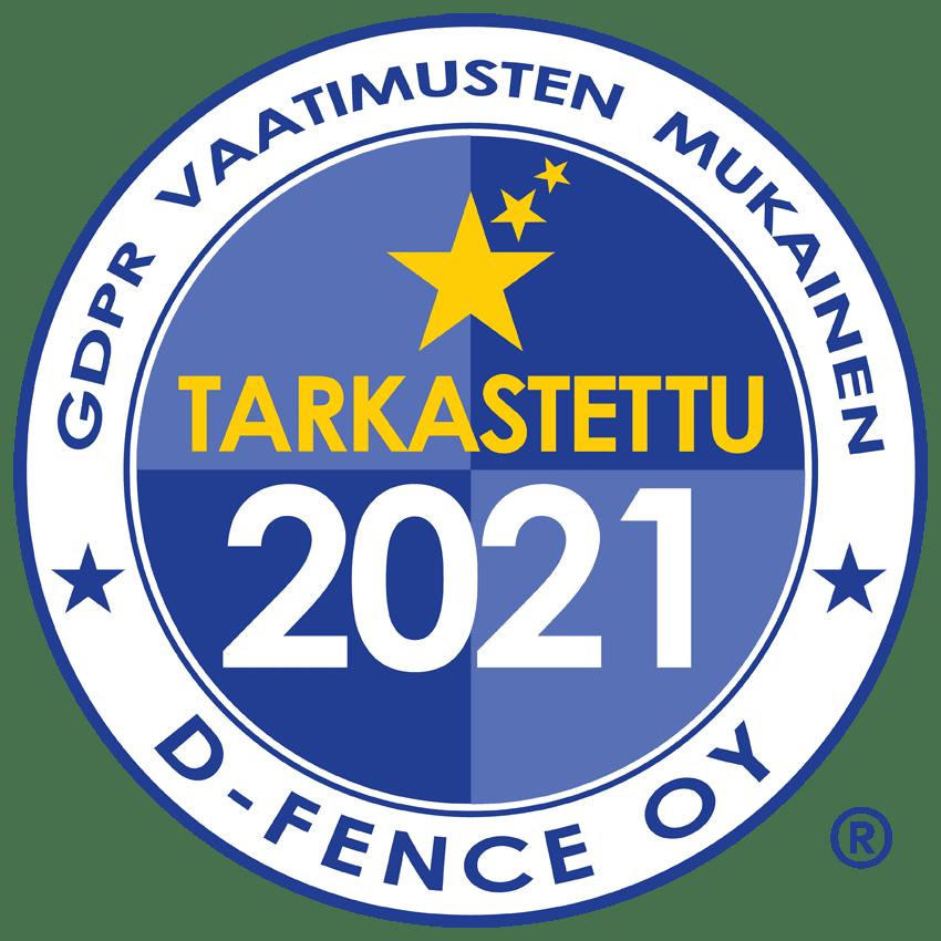 GDPR Sertifikaatti FI 2021