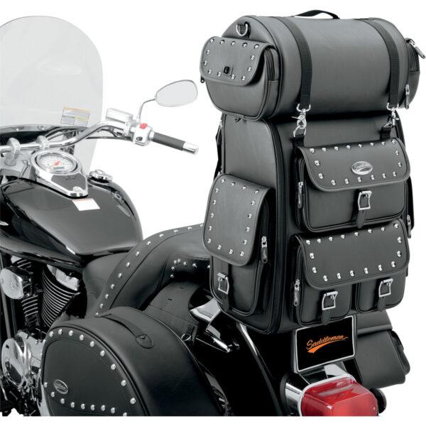 Saddlemen EX2200S Desperado TAKALAUKKU 36,1ltr, musta