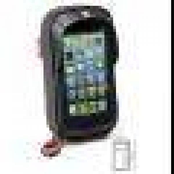 Givi S957B älypuhelin/GPS-TASKU ohjaustankokiinnityksellä, mm. iPhone6 Plus, Gal