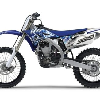 Yamaha YZ250F 10-11 Skull Racer -tarrasarja