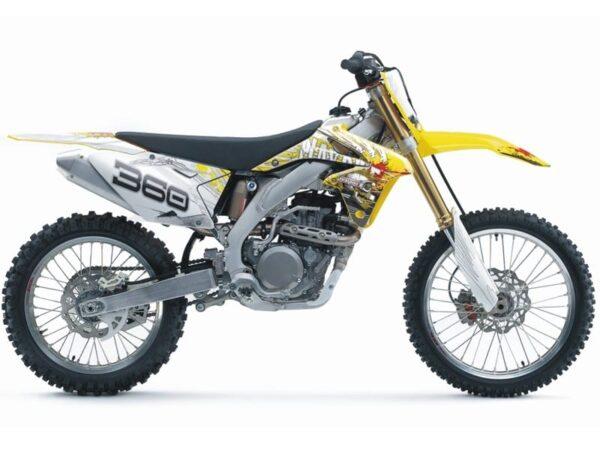 Skull Racer -tarrasarja, Suzuki RM-Z 450 08-11