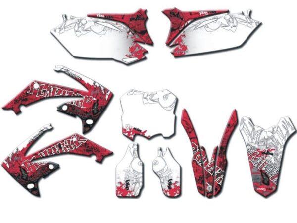 Graffiti-tarrasarja täydellinen, Honda CRF250R '10-11/ 450R '09-11