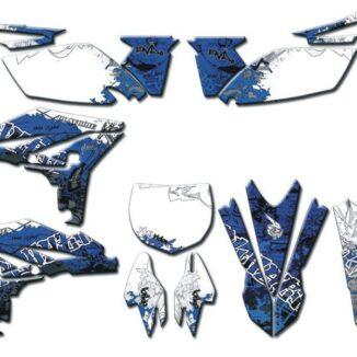 Graffiti-tarrasarja täydellinen, Yamaha YZ250F '10-11