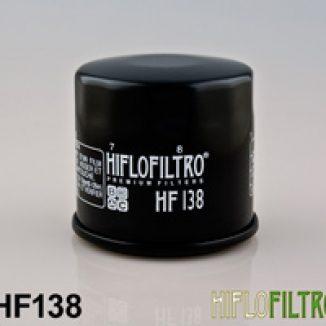 HF138 HiFlo ÖLJYNSUODATIN, Suzuki, Kawasaki, Arctic Cat, Cagiva