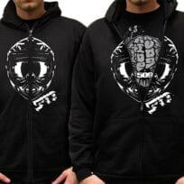 509 Brain Bucket Hoody & T-shirt HUPPARI Ja T-PAITA