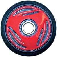 Telaston PYÖRÄ 165mm 62052RS laakerilla, punainen