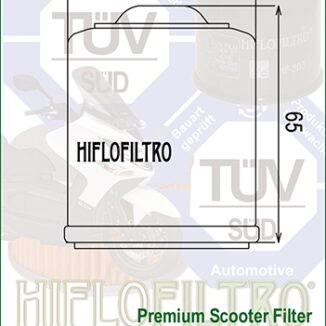 HF183 HiFlo ÖLJYNSUODATIN, skootterit 150-350cc