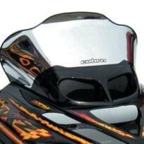 Cobra TUULISUOJA (13220) kromi/musta, Ski-Doo ZX sarja