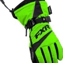 FXR 15 Helix Race Lasten HANSKAT lime
