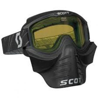 SCOTT AJOLASIT 83X Safari, black, 2-krs yellow lens