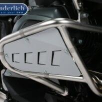 Wunderlich Rock Guard Set for Original BMW Engine Protection Bars. - black