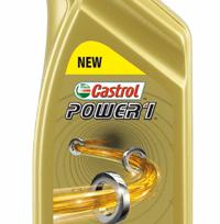 Castrol Power 1 Synteettinen 2-T Moottoriöljy Tuore/SeosVoiteluun 1 ltr.